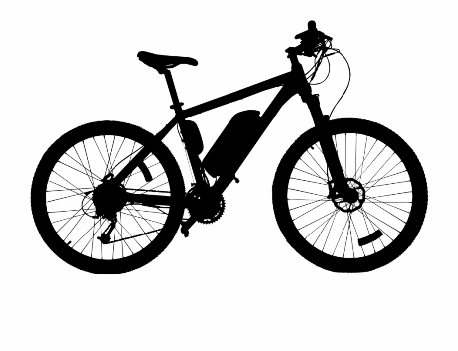 High Quality Bicycle Silhouette.