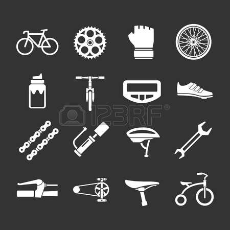 2,452 Bike Parts Stock Illustrations, Cliparts And Royalty Free.