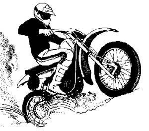Dirt Bike Clipart.
