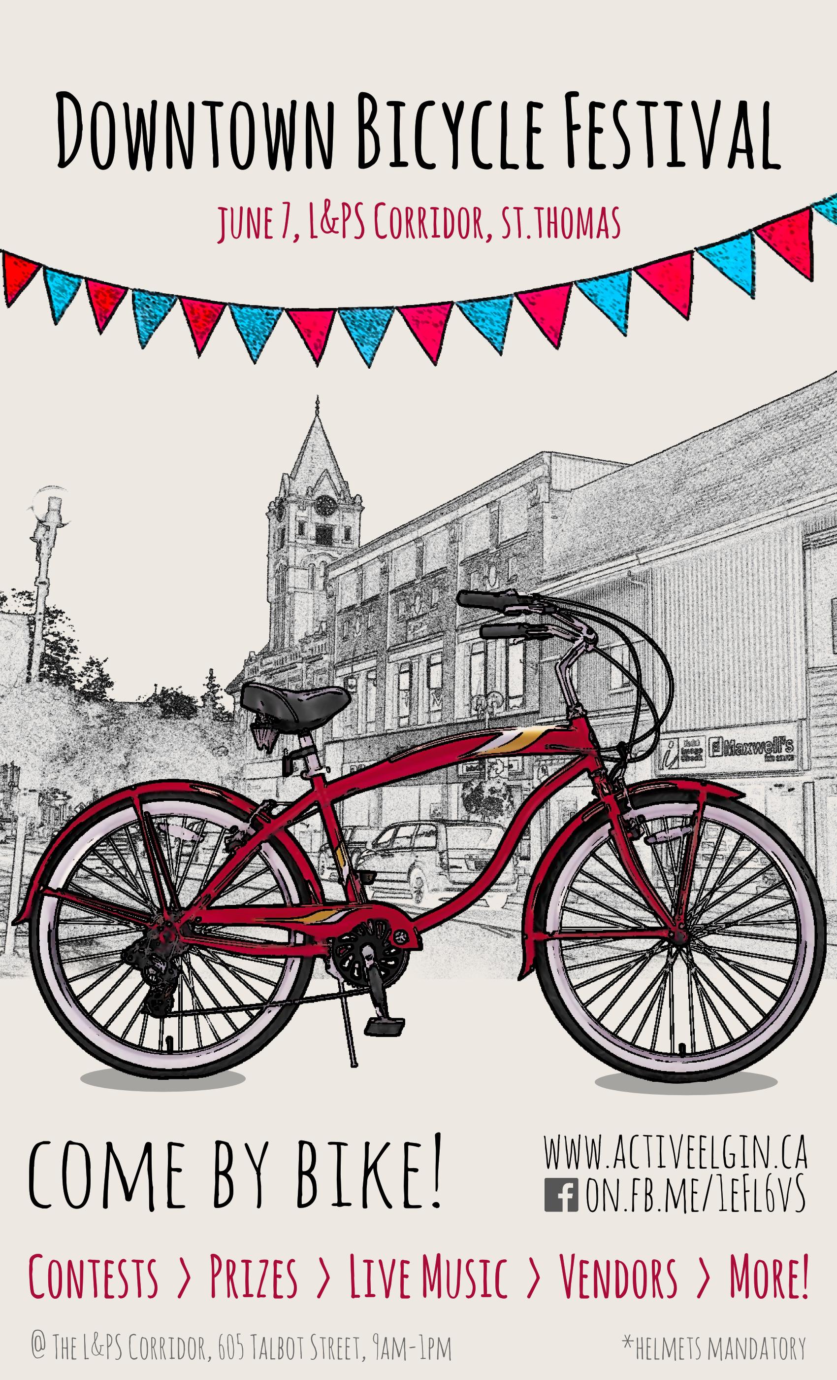 Downtown Bike Festival.