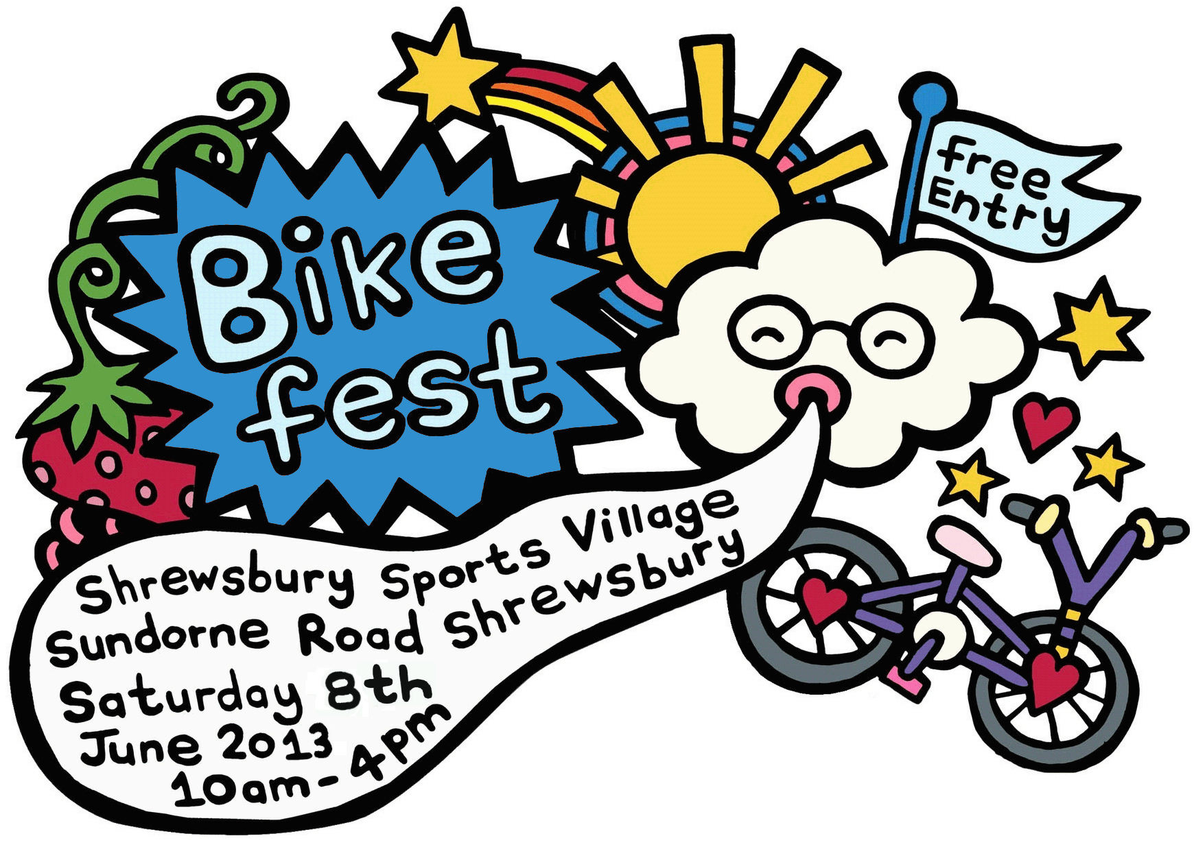 Bike Fest at Shrewsbury & Oswestry during June 2013!.