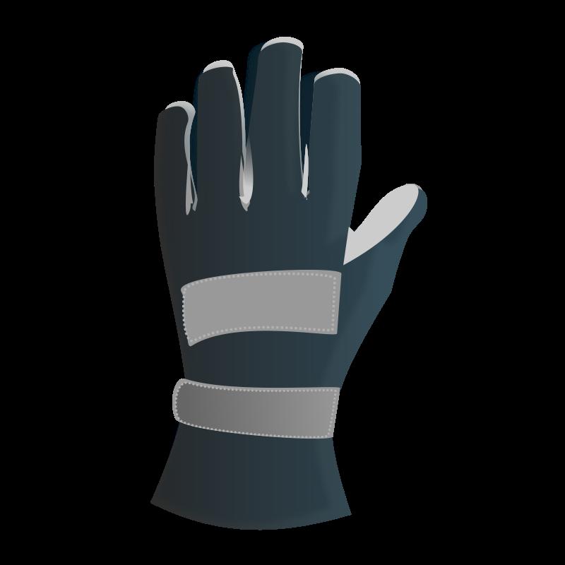 Racing gloves Free Vector / 4Vector.