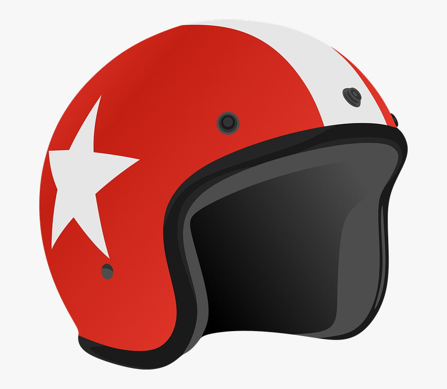 Helm Helmet Red Color Clipart Head Safety.
