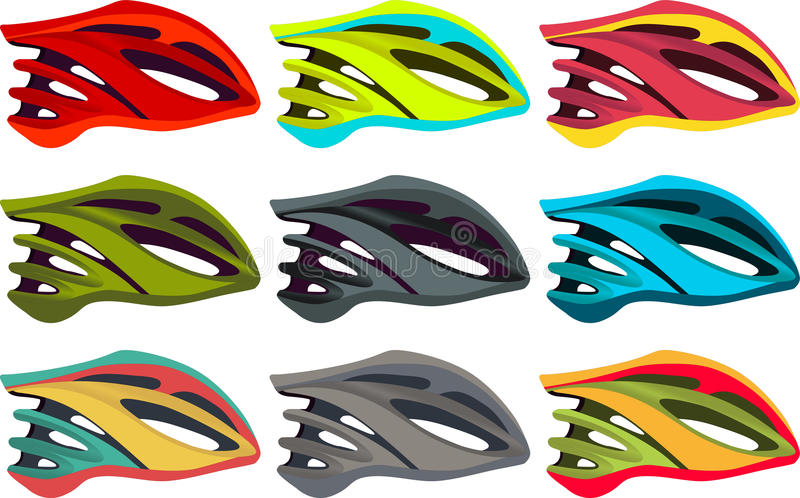 Bike Helmet Stock Illustrations.