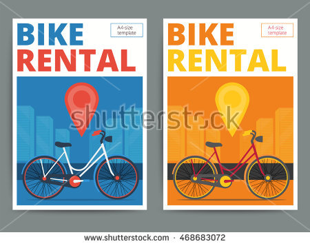 Bicycle Hire Stock Photos, Royalty.