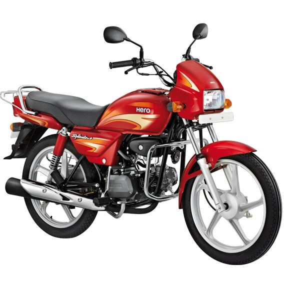 Download Hero Bike Transparent PNG For Designing Projects.