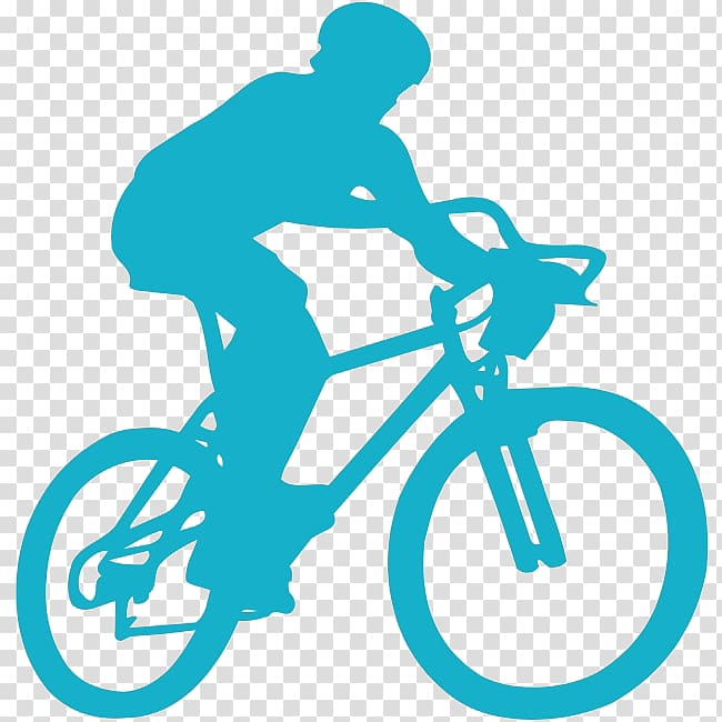 Light Sport Cycling Running Coach, Simple blue cycling.