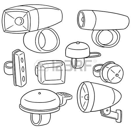 2,449 Bicycle Light Cliparts, Stock Vector And Royalty Free.