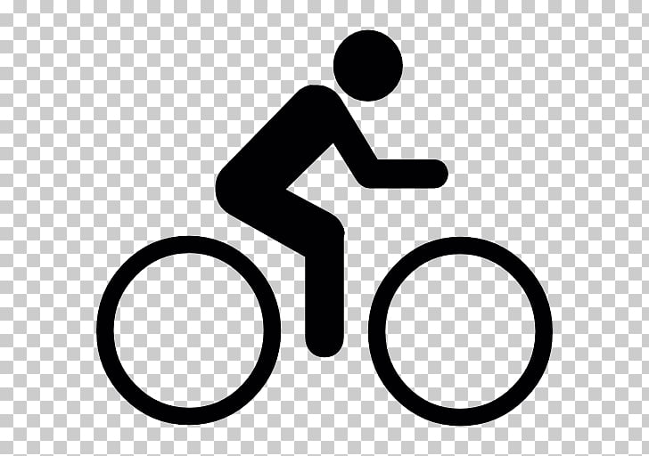 Cycling Bicycle Computer Icons , cyclist logo, person riding.