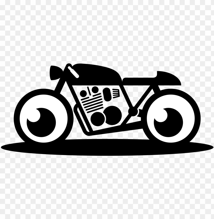 bullet bike logo PNG image with transparent background.