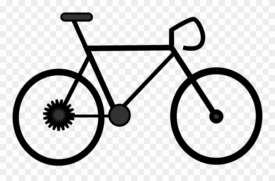 Bicycle Clipart Outline.