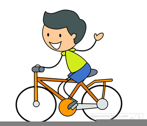 Bike Parade Clipart.