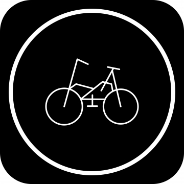 Bike Bicycle Icon For Your Project, Bike Bicycle, Bicycle, Bike PNG.