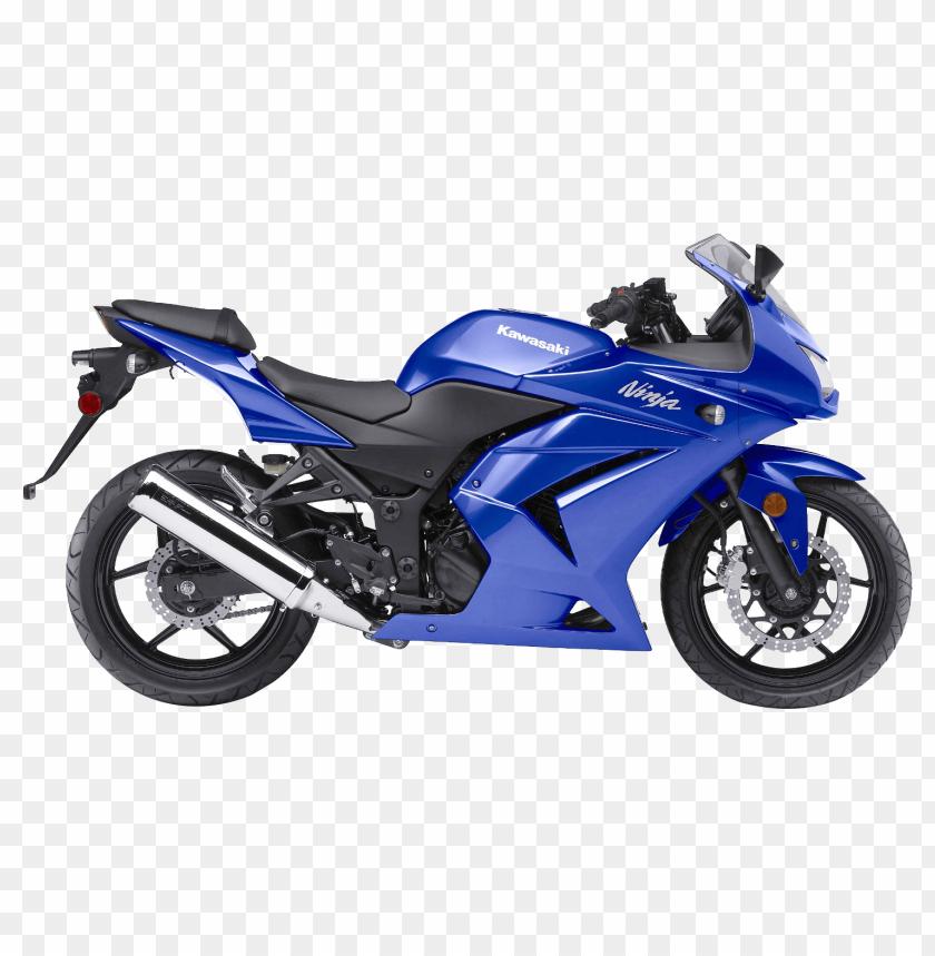 Download Kawasaki Ninja 250R Sport Motorcycle Bike png images.