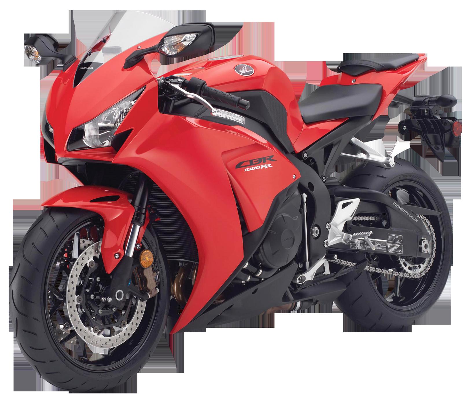 Honda CBR1000RR Sport Bike PNG Image.