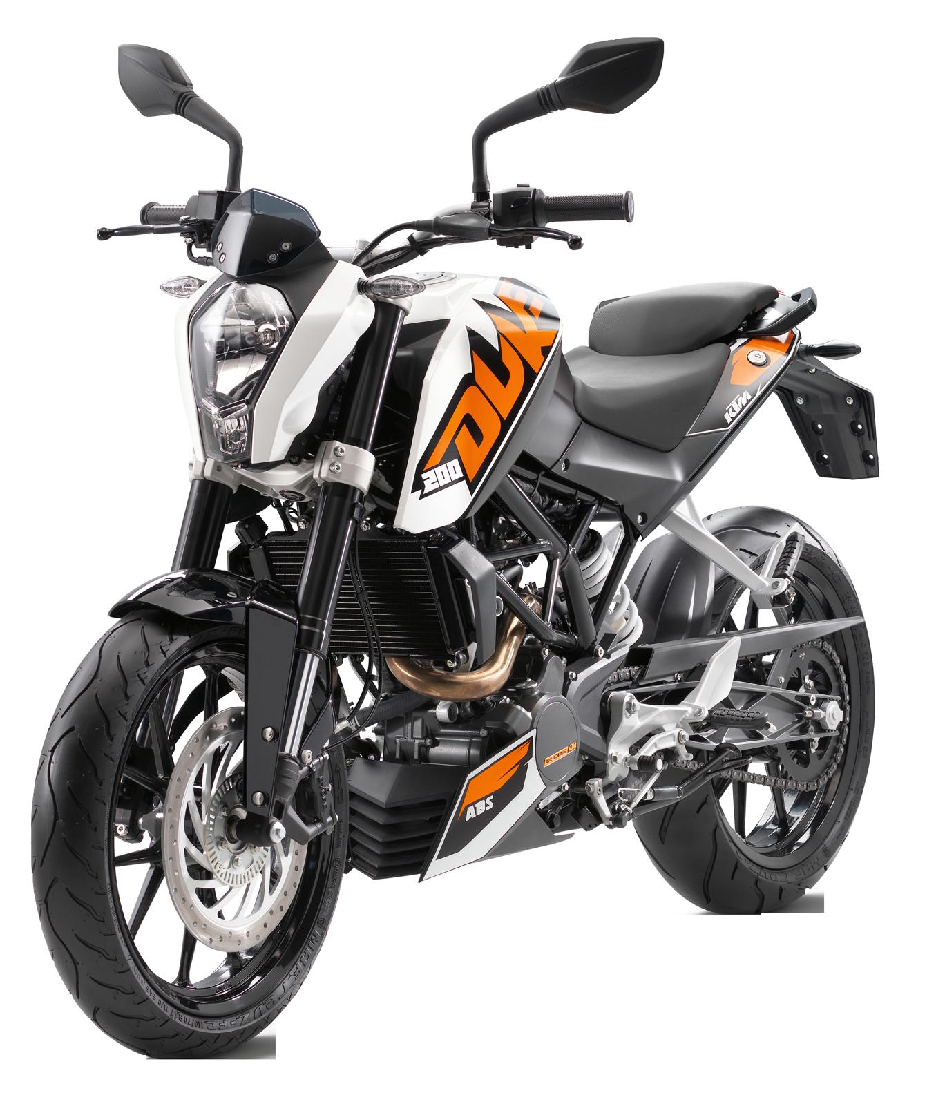 KTM 200 Duke Motorcycle Racing Bike PNG #49479.
