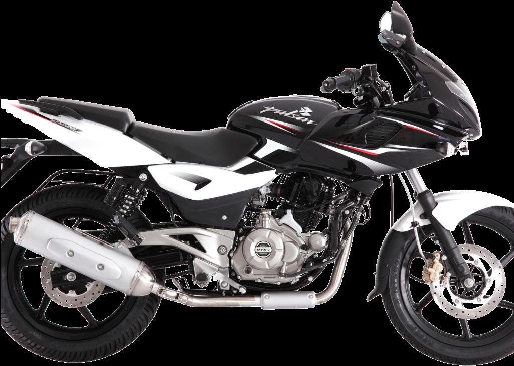 Bajaj Pulsar 150 Motorcycle Bike Png Image.