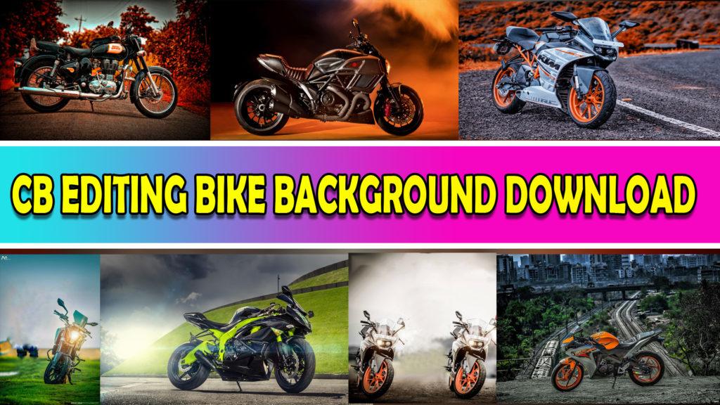 Picsart CB Editing Bike PNG Zip File Download.