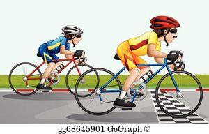 Bike Race Clip Art.