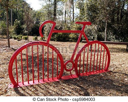 Stock Photos of Red Bike.