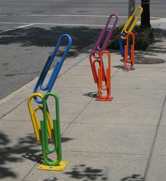 25 Awesome and Unusual Bike Racks.
