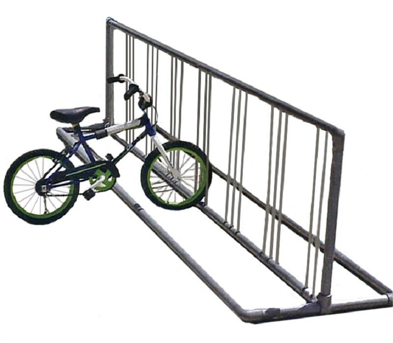 Bike rack clipart.
