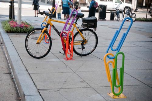 Artistic Bike Racks.