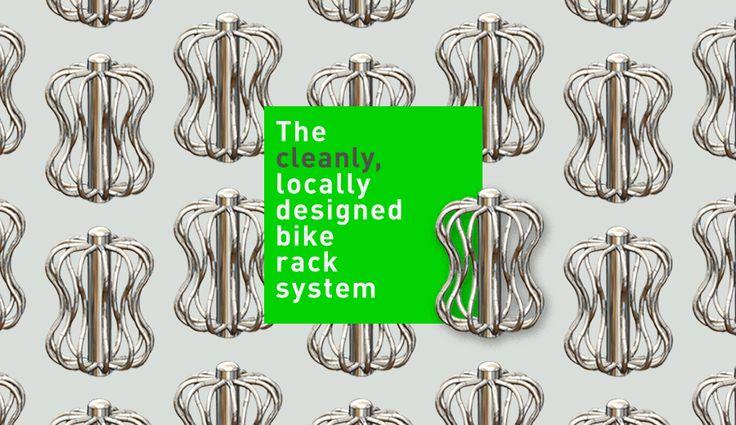 Bike Rack City: Ditching the Clip Art Bike Racks for Locally.