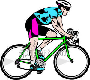 Racing cycle bicycle clipart - Clipground