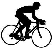 Bike Riding Clipart.