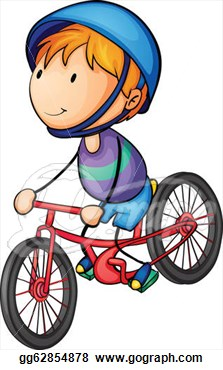 Clipart ride a bike.
