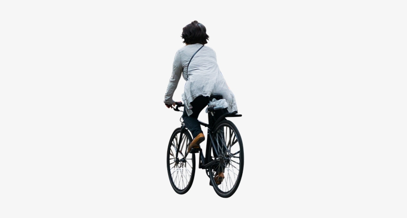 People Riding Bike Png Transparent PNG.