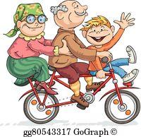 Bike Ride Clip Art.