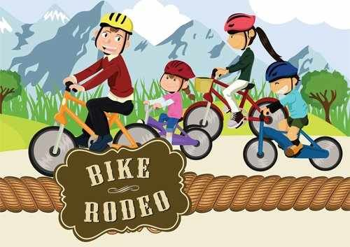 bicycle rodeo clipart.