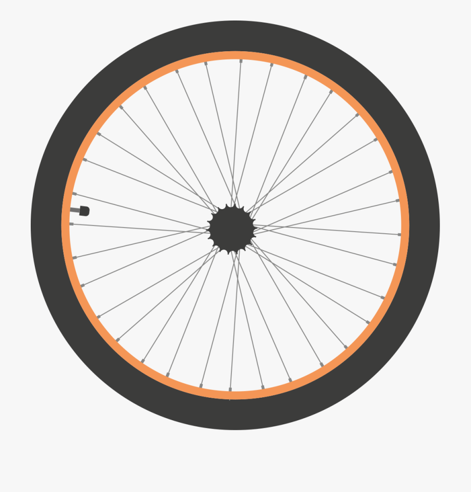 Bicycle Tire Clipart.