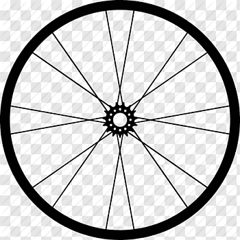 Bicycle Wheel cutout PNG & clipart images.