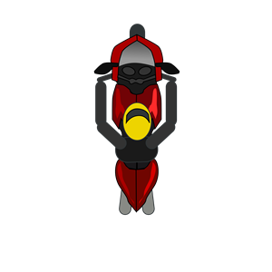 Racing bike top down for games clipart, cliparts of Racing.