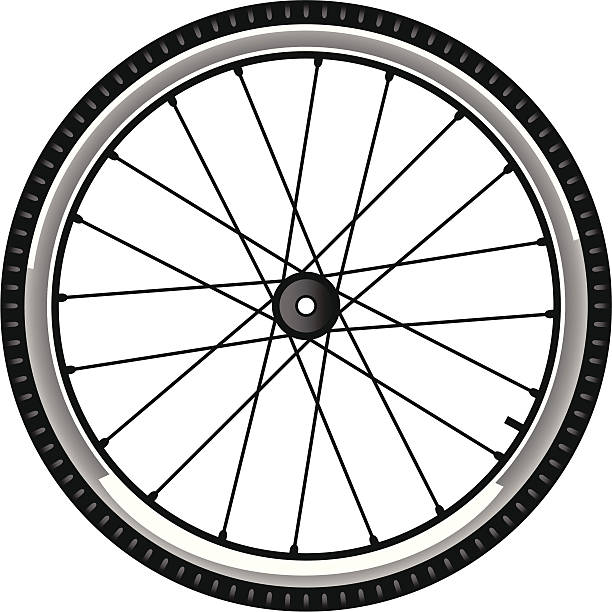 Best Bicycle Tire Illustrations, Royalty.