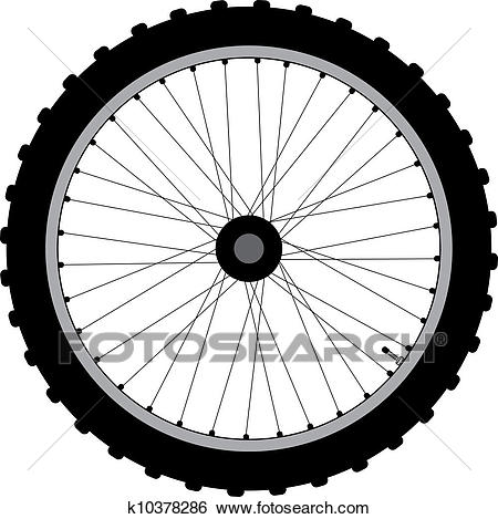 Bike wheel clipart 4 » Clipart Station.