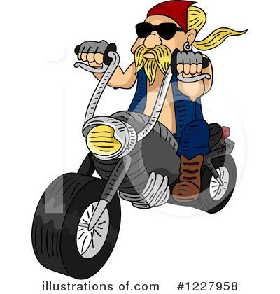 Biker Clipart #1227958.