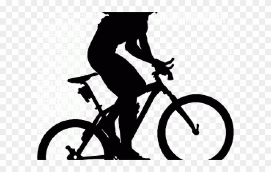 Bike Clipart Mountain Biker.