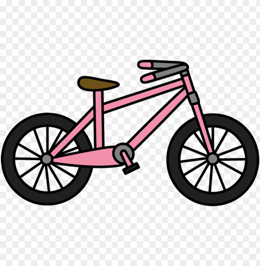 colorful clipart bicycle.