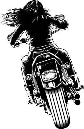 Free Girl Motorcycle Cliparts, Download Free Clip Art, Free.