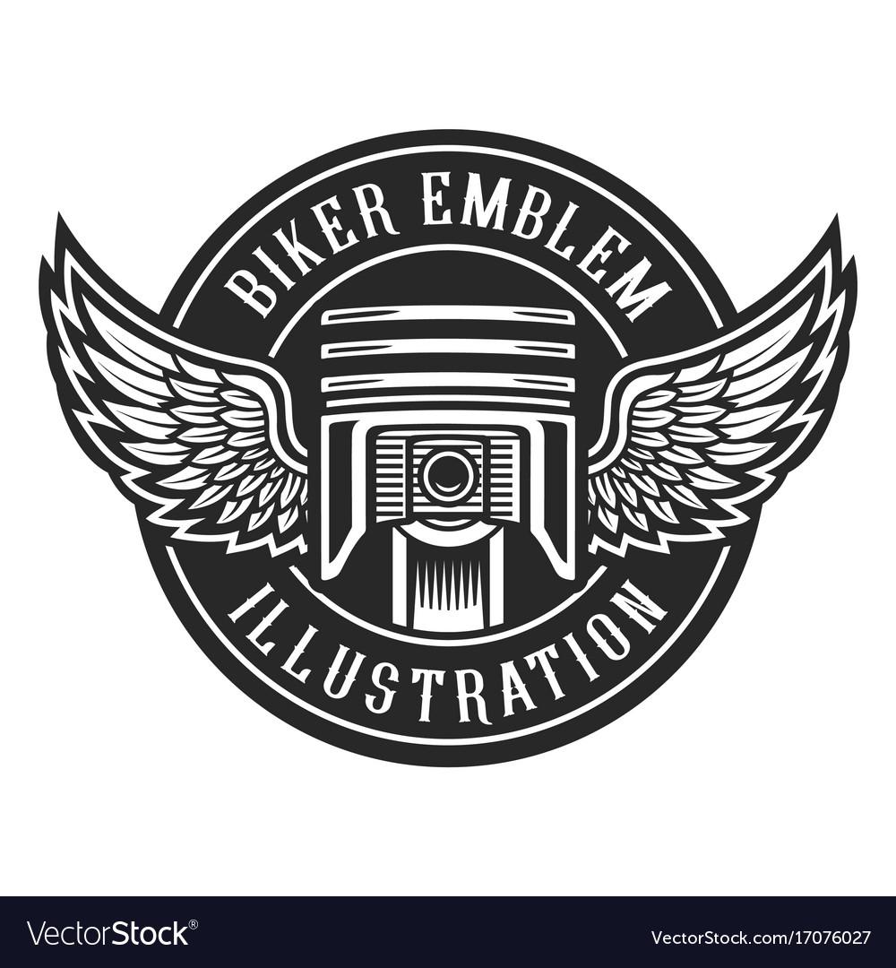 Biker emblem.
