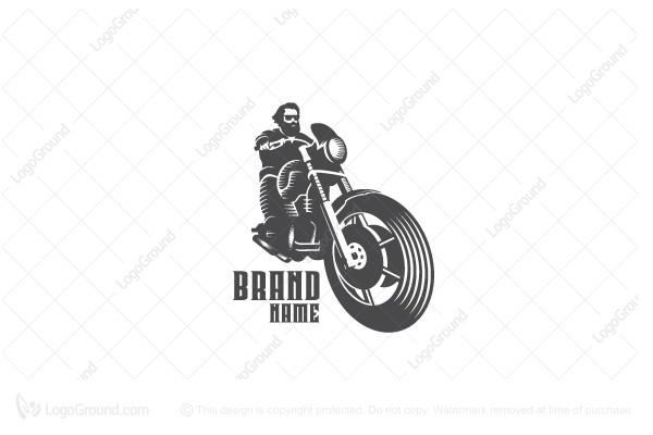 Exclusive Logo 89002, Biker Logo.