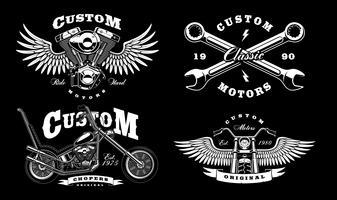 Biker Free Vector Art.