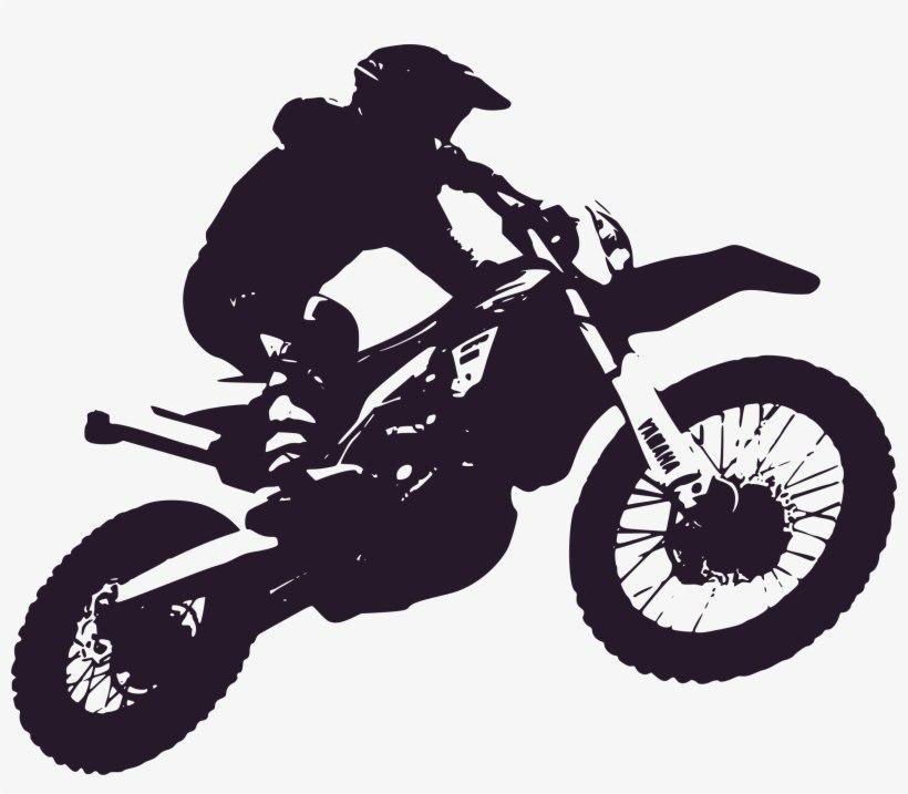 Dirt Biker PNG Image Background.