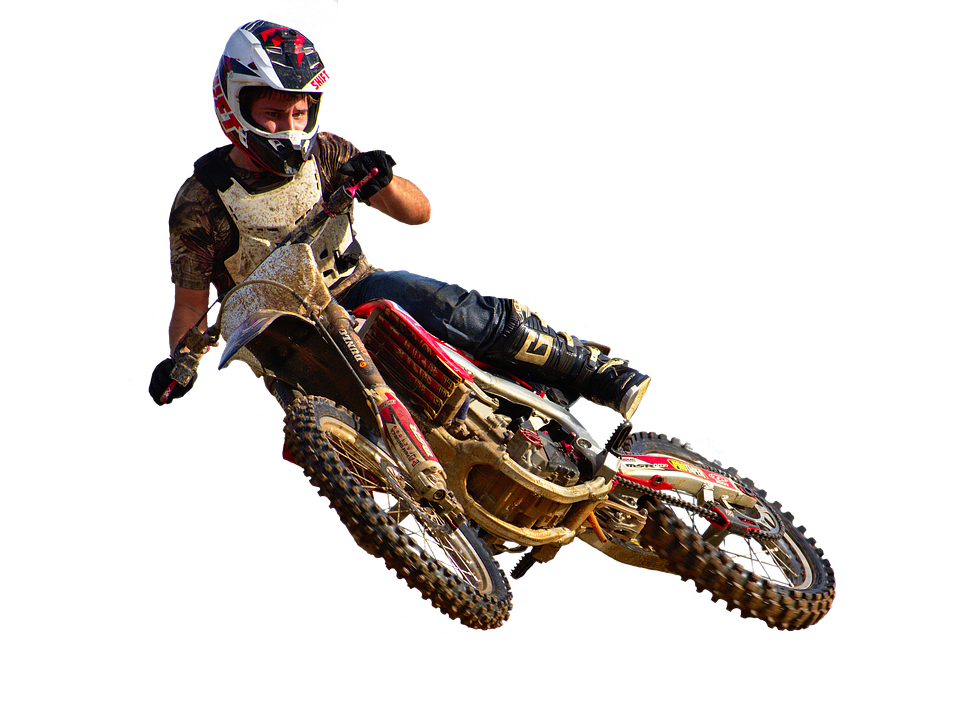 Dirt Biker PNG Free Download.