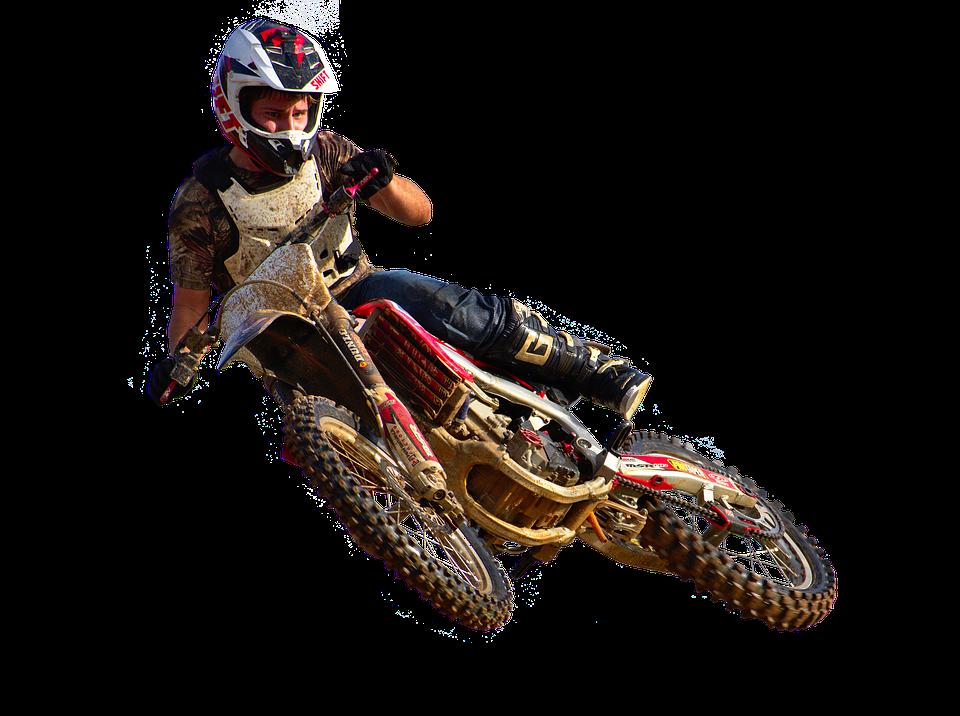 Dirt Biker PNG Free Download.