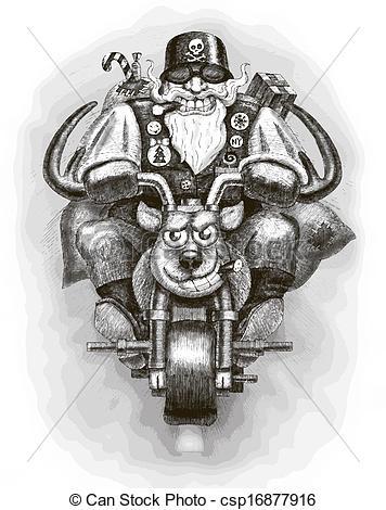 Santa claus biker Illustrations and Stock Art. 882 Santa claus biker.